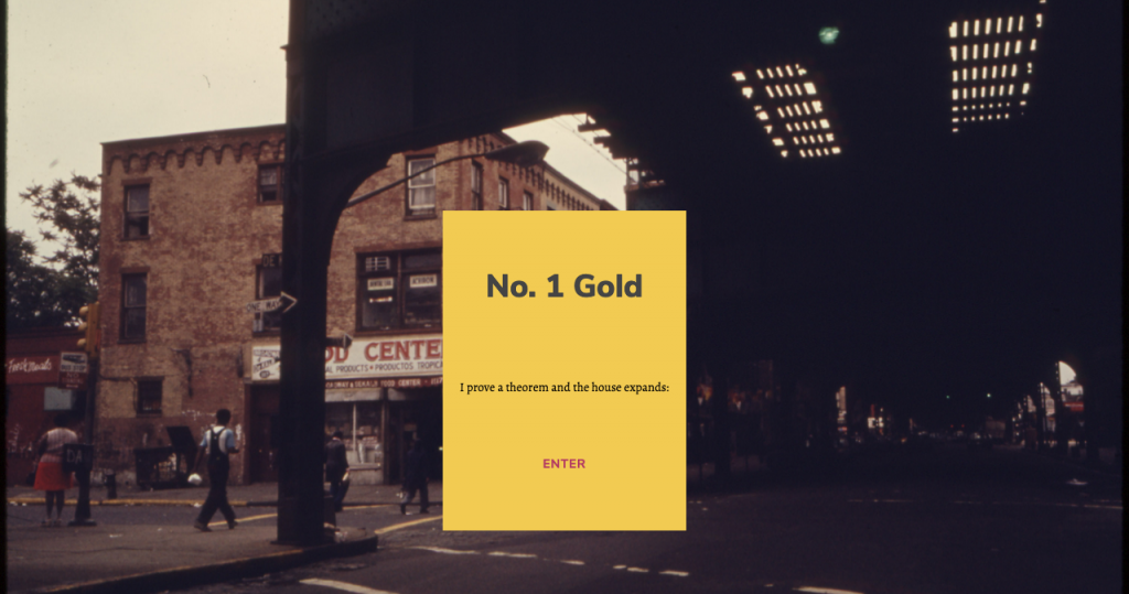 screenshot of No.1 Gold website